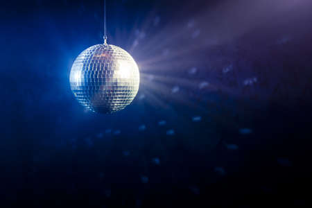 mirror ball: photo of a shinny disco ball