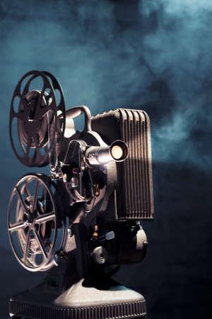 foto van een oude film projector