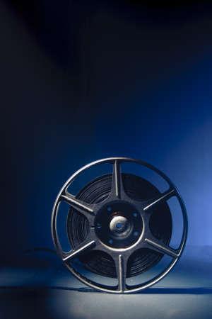 spoel van 8mm filmfilm