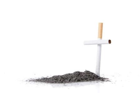 killings: smoking kills concept with cigarette
