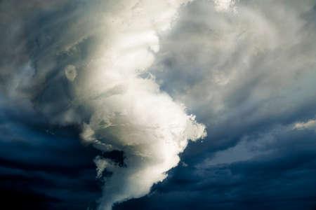 tornado wind: Tornado about to make damage