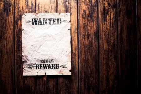wilde dood of levend beloning poster