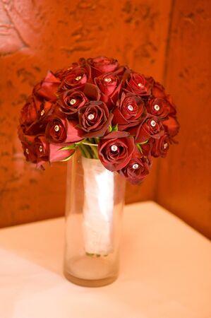 Beautiful bridal bouquet  Stok Fotoğraf