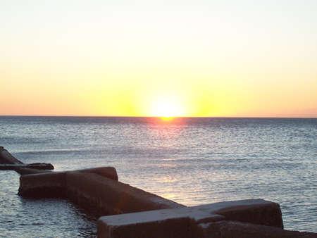 the sunset Stock Photo - 13236800