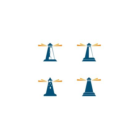 Light house  template vector icon design Ilustracja