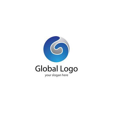 Global  template vector icon design
