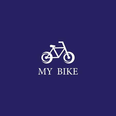 My Bike  template vector icon