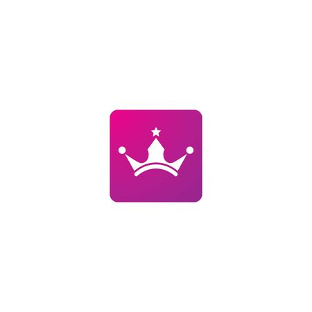 Crown  template vector illustration