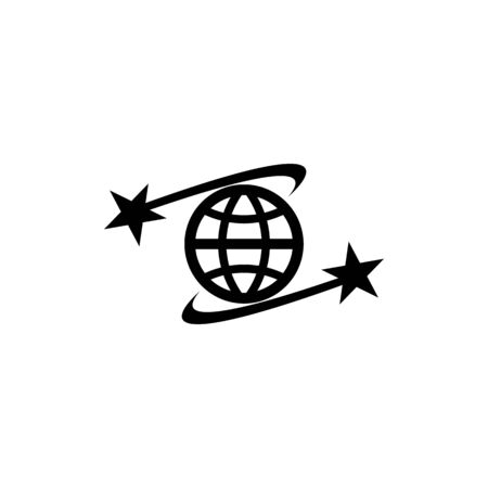 Global star  template vector icon design
