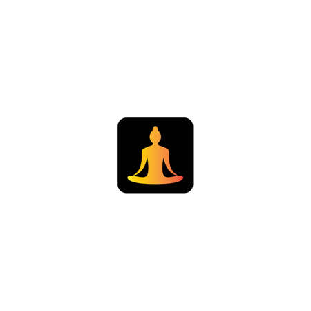 Yoga logo template vector icon design