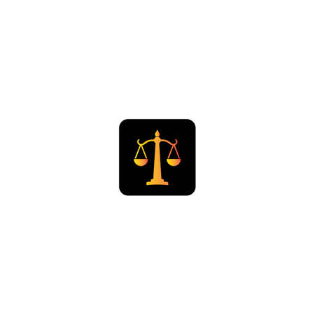 Law logo template vector icon design