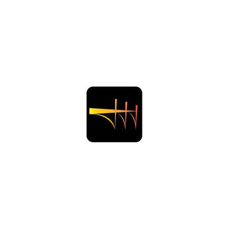 Bridge logo template vector icon design