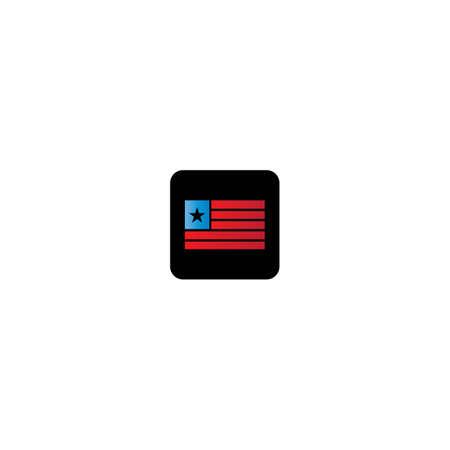 Flag logo template vector icon design 写真素材 - 150660279