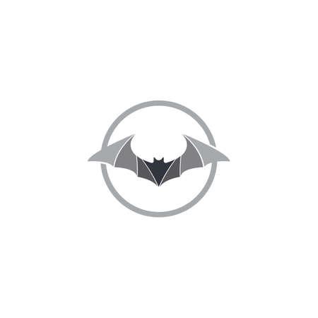 Bat logo template vector icon design