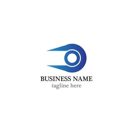 Connection logo template vector icon design