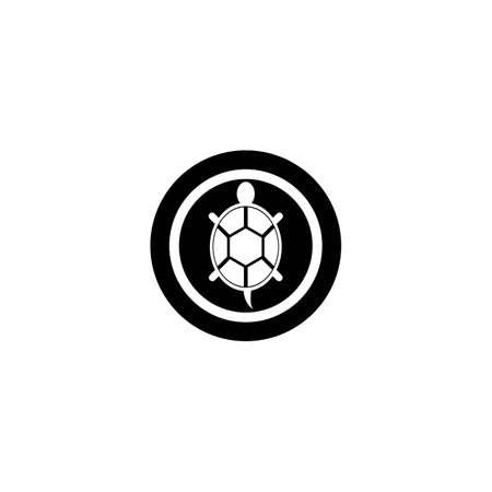 Turtle logo vector icon design Vettoriali