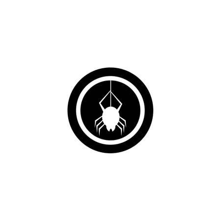 Spider logo template vector icon design