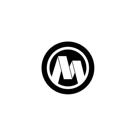 M Letter logo business template vector icon
