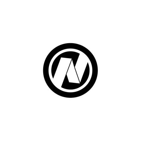 N Letter logo business template vector icon