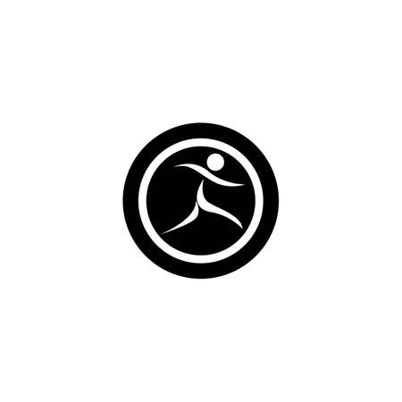 People logo template vector icon design Ilustrace
