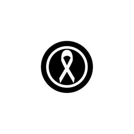 Cancer logo template vector icon illustration