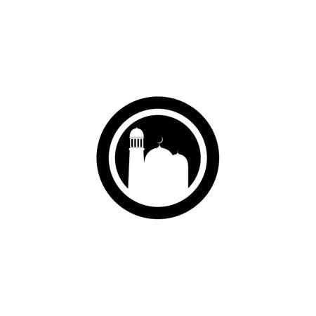 Mosque logo template vector icon design