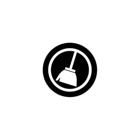 Cleaning logo template vector icon design Vettoriali