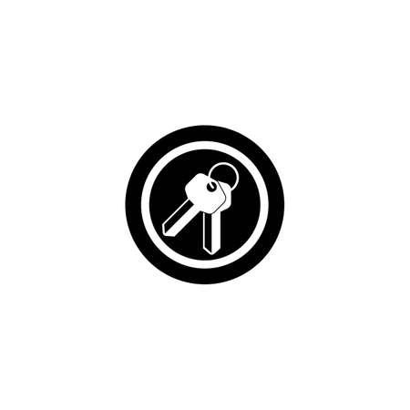 Key logo template vector icon design Vettoriali