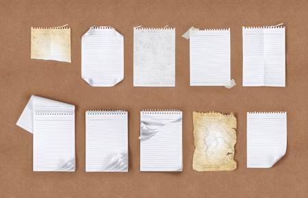 Many kind of different type of papers photo