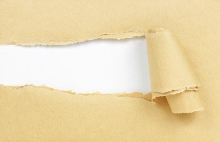 papier brun avec copie espace pour le texte