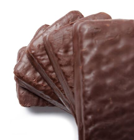 a pile of delicious chocolate biscuit  photo