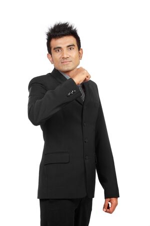 portrait of young ambitious businessman Stock Photo - 10328946