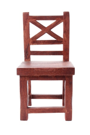front view of antique wooden chair  Stock Photo - 10313989