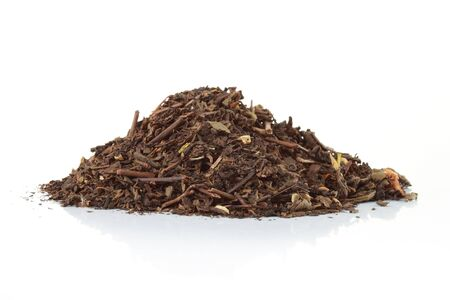 the spice clove in a pile isolated on white photo