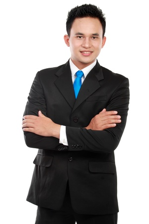 Portrait of a successful business man in the office Stock Photo - 12799816