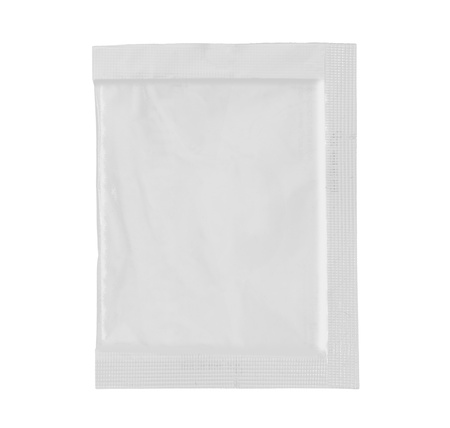 food bag for new design, isolated over white background photo