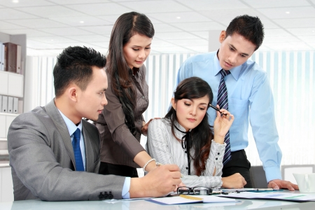 business team meeting in the meeting room Stock Photo - 17682429