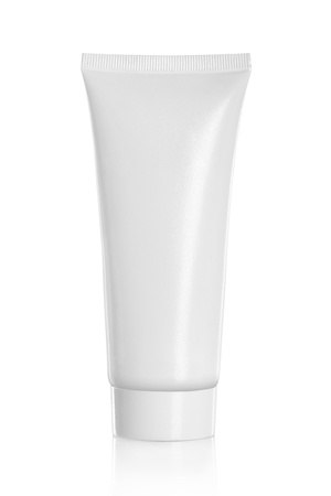 Tube Of Cream Or Gel white plastic product. for another perfect white container, product and packaging please visit my portfolio Stock Photo - 19282733