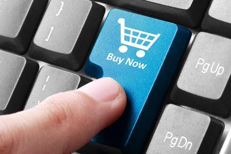 クローズ アップの購入今すぐキーボードのボタン