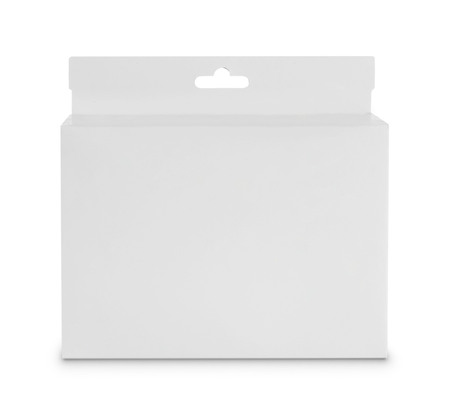 white Package Box. For Software and other products  Stock Photo - 22425339