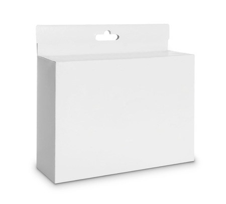 white Package Box. For Software and other products  Stock Photo - 22425338