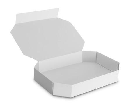 white Package Box for food products  Stock Photo - 22425344