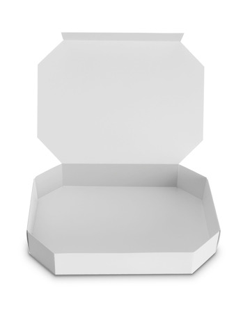 corrugated box: white Package Box for food products