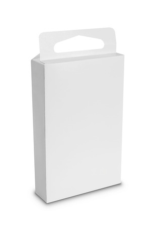 white Package Box. For Software and other products  Stock Photo - 22425345