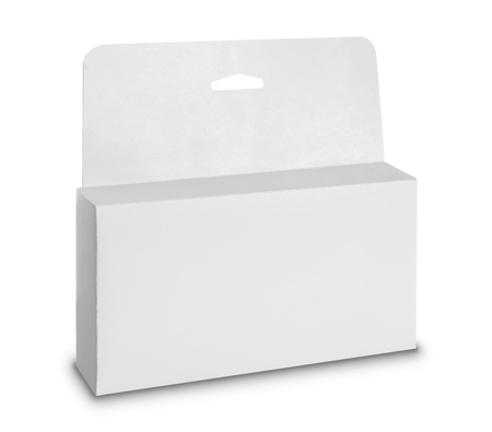 white Package Box. For Software and other products  Stock Photo - 22425346