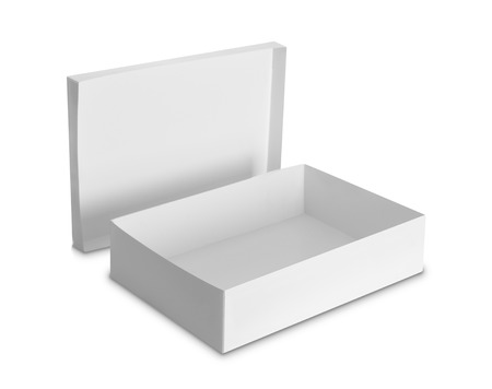 white Package Box  photo