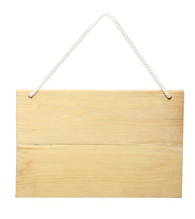 placa bacteriana: Muestra de madera de una cuerda. aislado más de fondo blanco