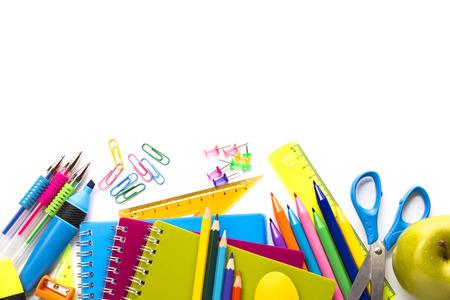 pencil paper: Fuentes de escuela en blanco listo para su dise�o