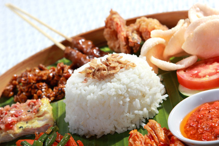 healthy and delicious indonesian food for lunch