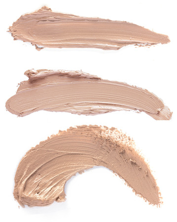 close up of a Scratch beige foundation